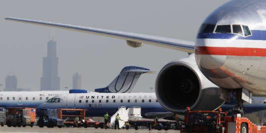 L'aéroport de Chicago, en octobre 2010.