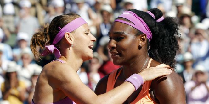 Lucie Safarova a bien résisté à Serena Williams.