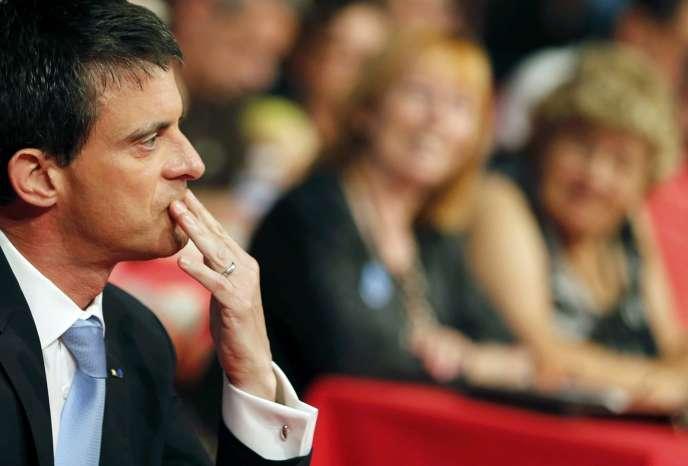 Manuel Valls, à Poitiers, le 7 juin.