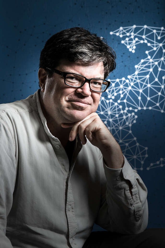 Yann LeCun, Paris, 10 june 2014. Copyright Julien Faure.