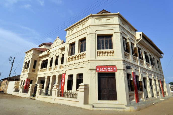 Le musée dédié à l'art contemporain de la fondation Zinsou à Ouidah, au Bénin.