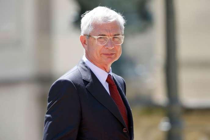 Le président de l'Assemblée nationale, Claude Bartolone, le 8 juin.