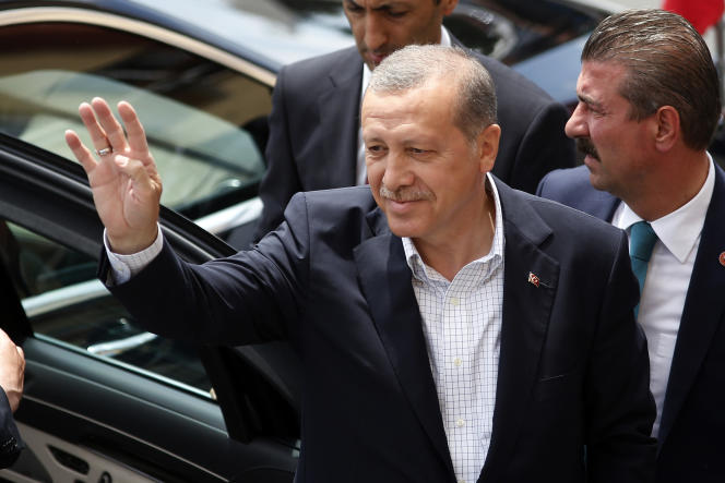 Le président Erdogan samedi 7 juin.