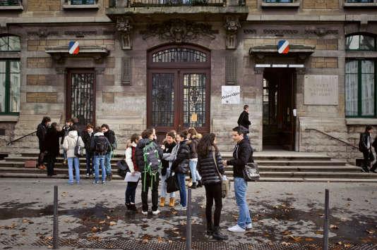 Lycée du Parc, à Lyon.