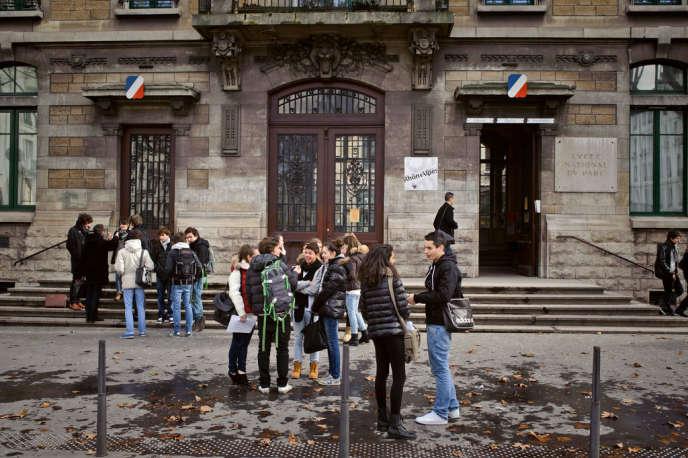 Le lycée du Parc à Lyon, un des plus grands établissements de France pour les classes préparatoires.