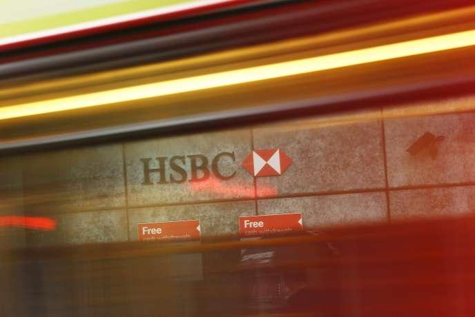 Le siège d'HSBC à Londres.
