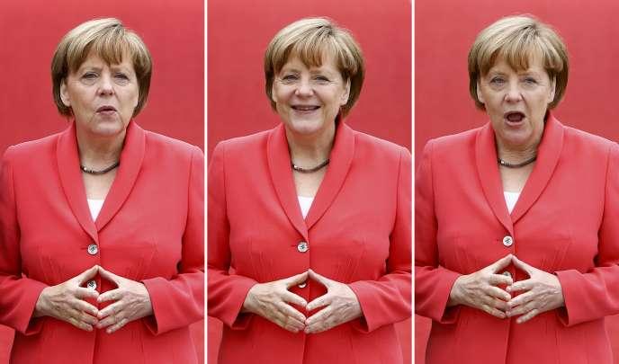 Angela Merkel le 8 juin 2015 à Kruen, Allemagne.