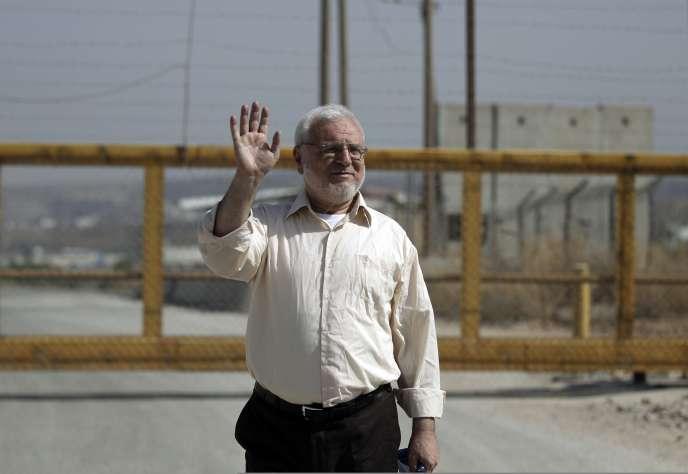 Aziz Dweik, le président du Parlement palestinien, a été libéré par Israël le 9 juin, près d'un an après son arrestation.