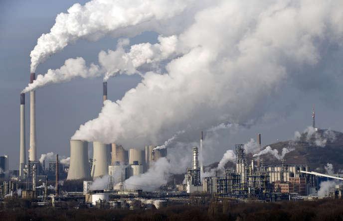 La centrale au charbon de Gelsenkirchen (Allemagne), en 2009.
