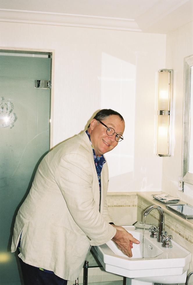 John Lasseter à Cannes, en mai.