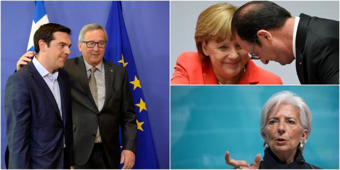 Les acteurs principaux du « feuilleton » grec vont de sommets infructueux en rendez-vous ratés. Mercredi ils se retrouvent pour la plupart à Bruxelles.