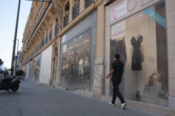 Rue de la République à Marseille.