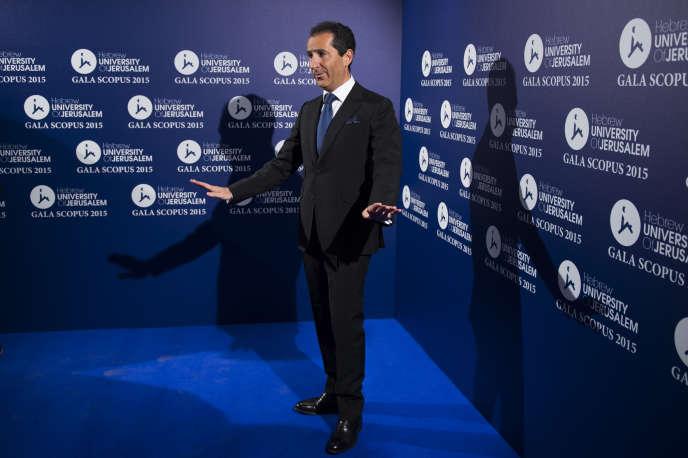 Patrick Drahi le 18 mars à Paris.