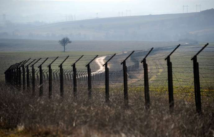Kapitan Andreevo, à la frontière entre la Bulgarie et la Turquie (en 2011). C'est là que l'Agence européenne de gardes-frontières devait être officiellement lancée, jeudi 6 octobre.