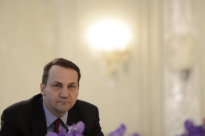 Radoslaw Sikorski, alors ministre polonais des affaires étrangères, en 2013 à Munich.