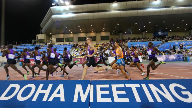 Meeting d'athlétisme de Doha le 15 mai.