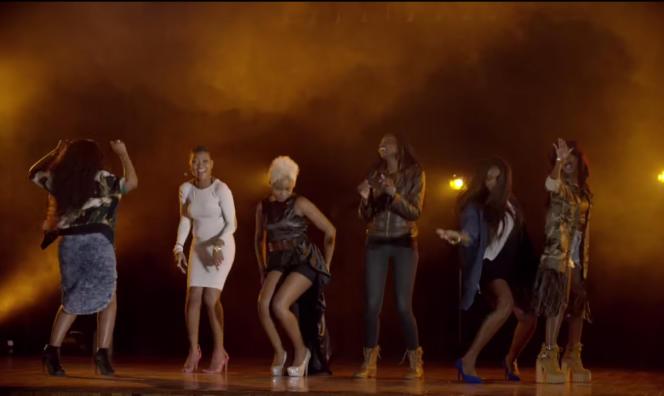 Chanteuses africaines engagées dans la campagne de l'ONG ONE pour  l'égalité des femmes.