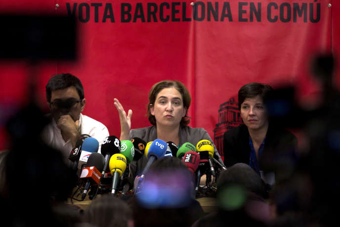 Barcelona City Hall tackles sellers on the run