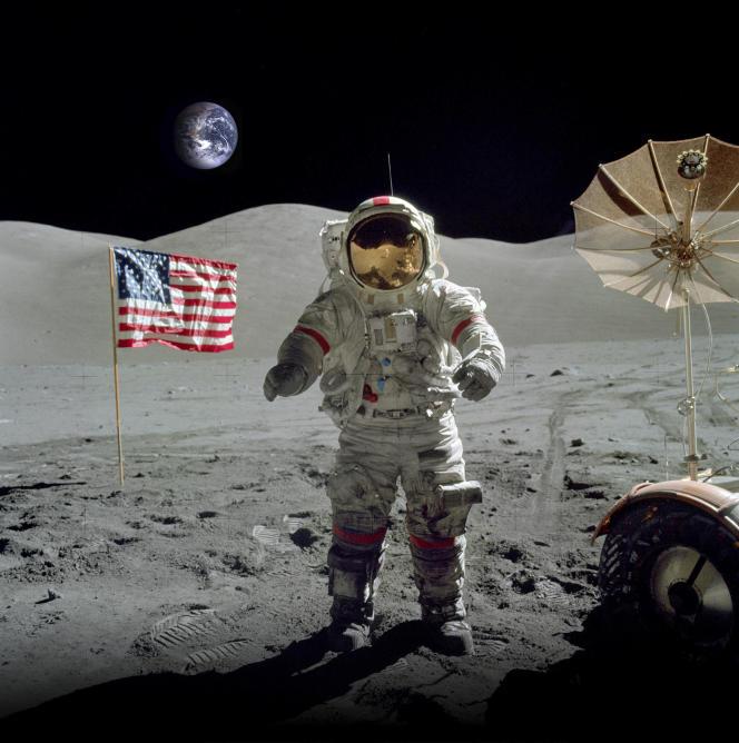 Apollo 17, en décembre 1972, est la dernière mission du programme spatial Apollo de la Nasa sur la Lune.