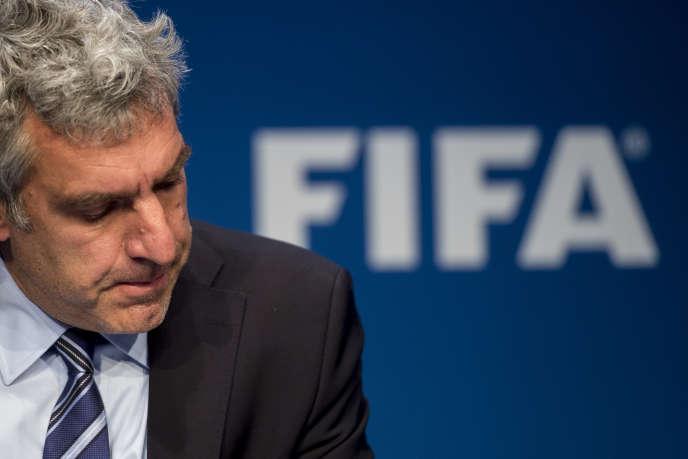 Walter De Gregorio, le directeur de la communication de la FIFA, a démissionné de ses fonctions le 11 juin.
