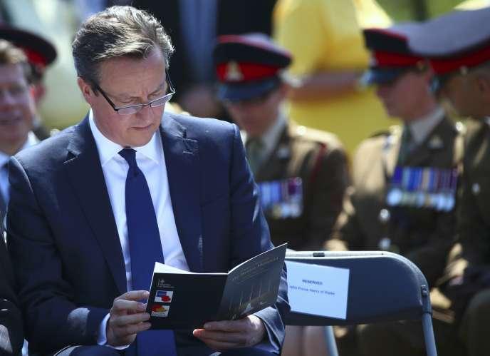 David Cameron, le 11 juin.