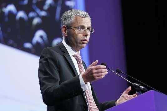 Michel Combes quittera la direction générale d'Alcatel-Lucent le 1er septembre.