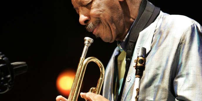 Le saxophoniste Ornette Coleman, le 15 juillet 2007 à Rotterdam.