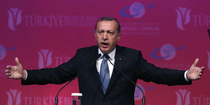 Le président turc, Recep Tayyip Erdogan, à Ankara, le 11 juin 2015, aux lendemains des élections législatives.
