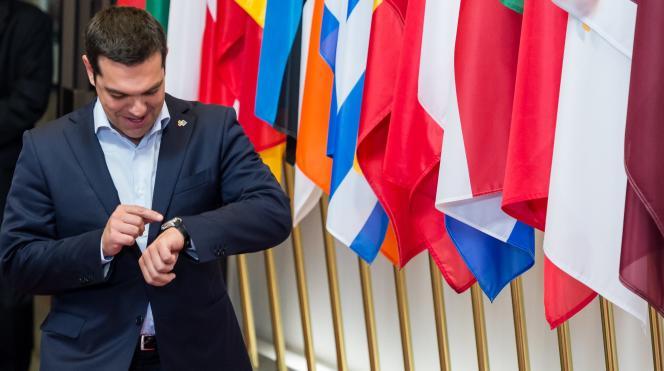 Alexis Tsipras, le premier ministre grec, le 11 juin à Bruxelles.