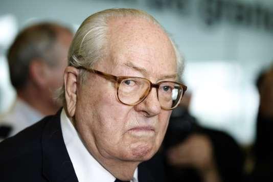 Jean-Marie Le Pen, en juin à Nanterre.