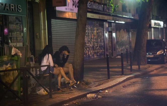 Sur le boulevard Ney, à Paris, en août 2013.