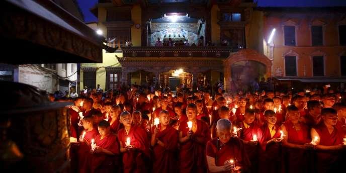 A Katmandou, le 12 juin 2015.