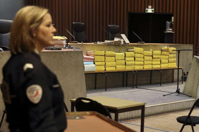 Lors du procès du Carlton, au tribunal de Lille, en février.