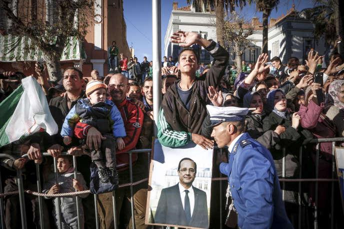 Voyage d'Etat en Algérie de François Hollande, jeudi 20 décembre 2012.