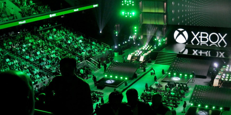 La conférence de Microsoft à l'E3 2014.