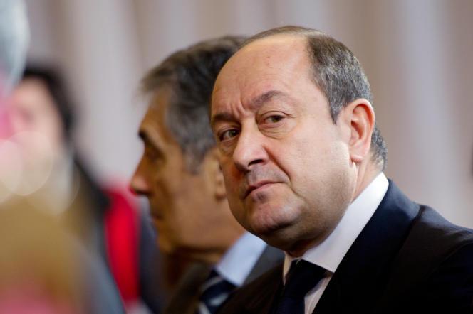 Bernard Squarcini,  le 17 janvier 2012.
