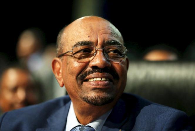 Omar Al-Bachir au sommet de l'Union africaine en Afrique du Sud, le 14 juin.