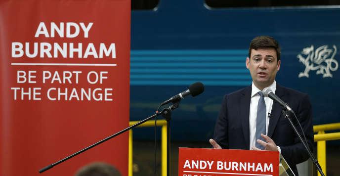 Andy Burnham, le 15 juin à Crewe.