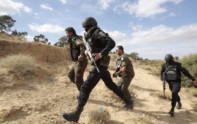 La région du centre de la Tunisie est le théâtre d'affrontements réguliers entre la garde nationale et des noyaux djihadistes.