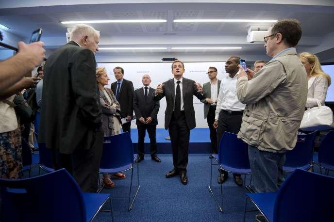 Nicolas Sarkozy songe à « revenir au droit du sang » en matière de nationalité française.