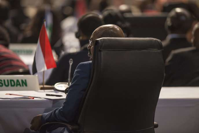 Omar Al-Bachir, au sommet de l'Union africaine à Johannesburg, dimanche 14juin.