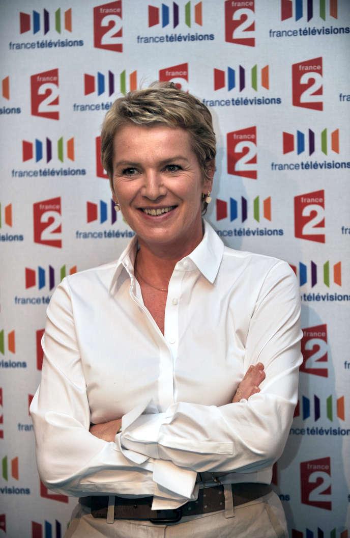 La journaliste de France 2 Elise Lucet, première signataire de la pétition du collectif