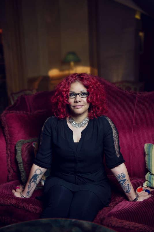 Mona Eltahawy à Paris, le 12 juin.