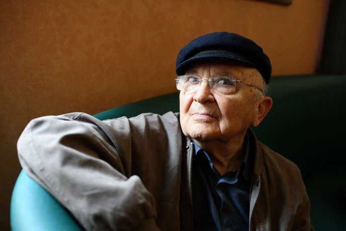 Aharon Appelfeld, le 22 septembre 2012.