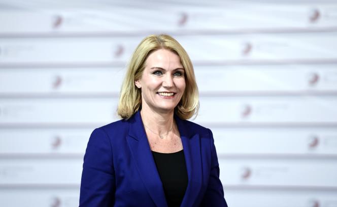 Première ministre danoise Helle Thorning-Schmidt le 21 mai 2015.