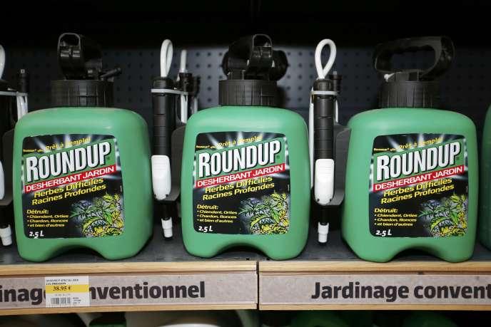 Le glyphosate est le principe actif du Roundup, l'herbicide de Monsanto.