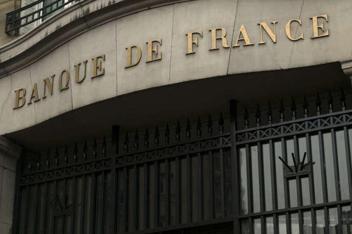 Une agence de la Banque de France, à Paris.