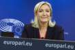 Marine Le Pen au Parlement européen de Bruxelles, le 16 juin 2015.