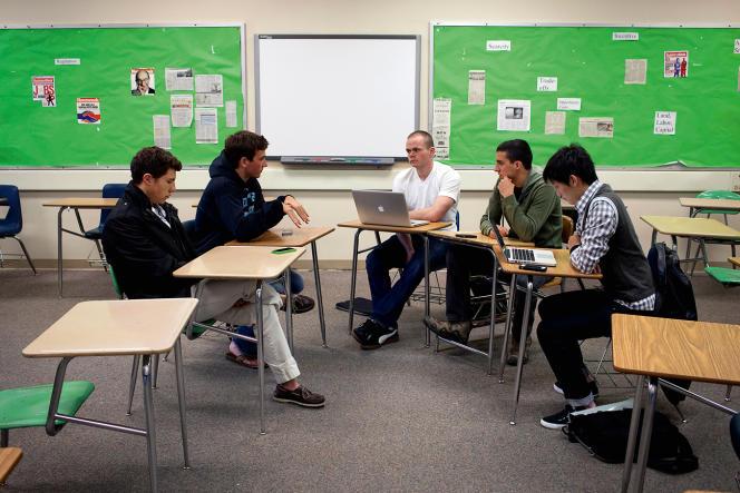 «Paly» (notre photo) et «Gunn», les deux lycées publics de Palo Alto, placent la barre très haut pour préparer leurs élèves aux meilleures universités.