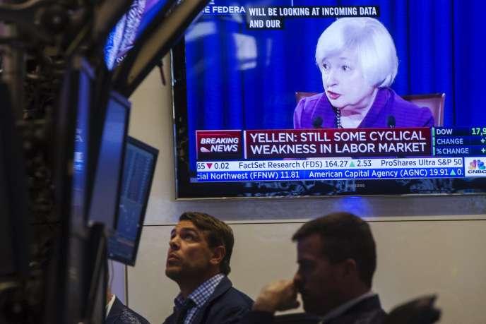 Difficile à quelques jours du comité de politique monétaire de la Fed, qui se tiendra les 16 et 17 septembre, de savoir si l'institution optera pour le statu quo ou décidera de relever ses taux.